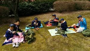春キャンプ初日お昼ご飯_1479