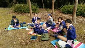 春キャンプ初日お昼ご飯_4894